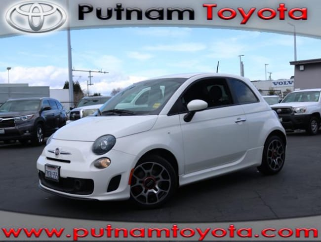 Used 2015 FIAT 500 HB Turbo in Burlingame