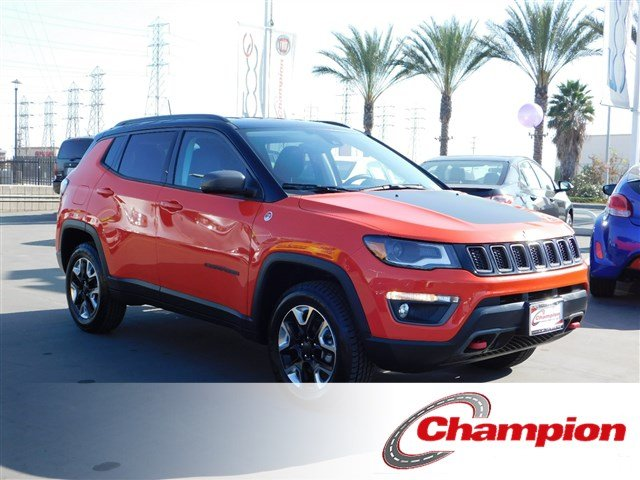 2018 Jeep Compass Trailhawk Trailhawk 4x4