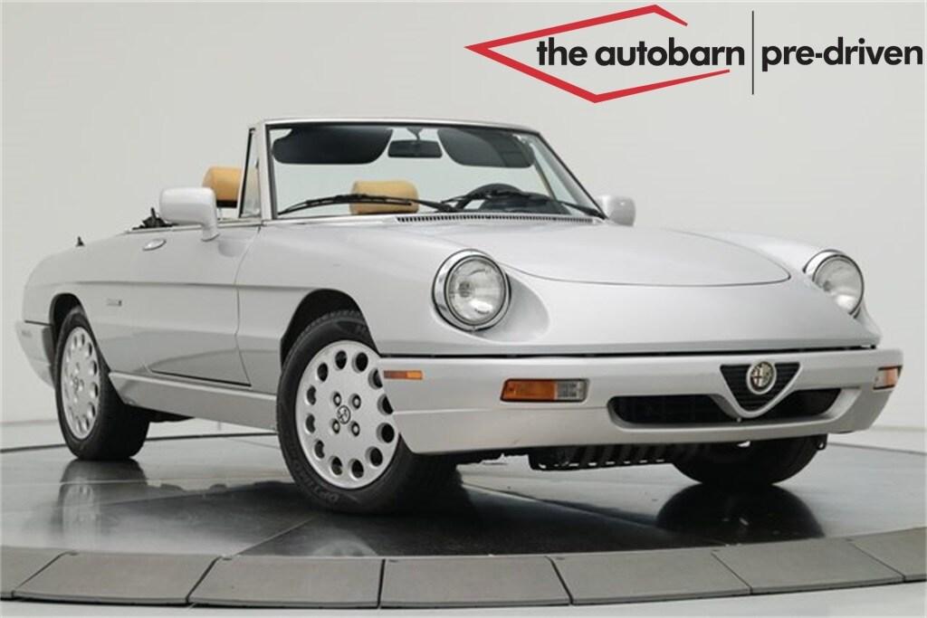1991 Alfa Romeo Spider Veloce Convertible