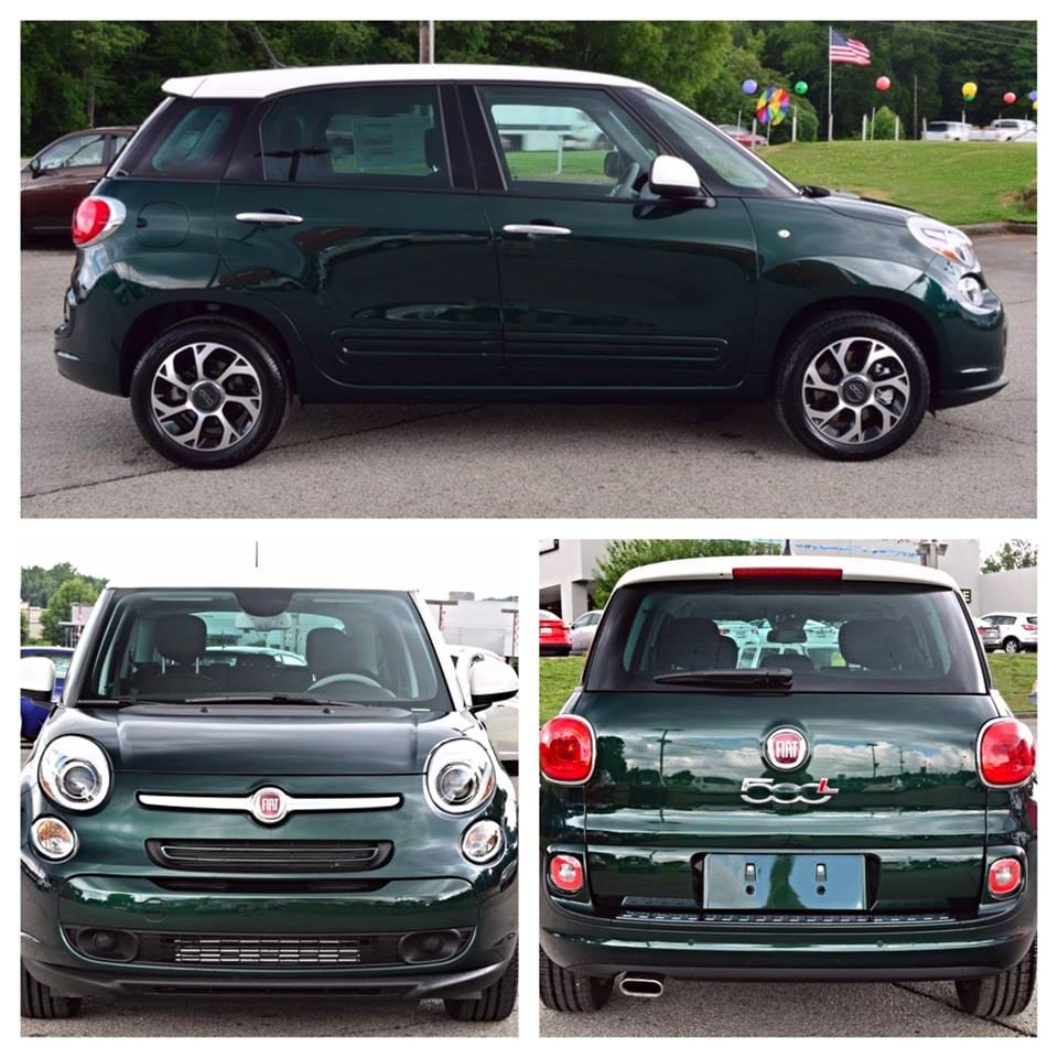The New 2014 4door Fiat 500L in AL  Fiat Dealer in Alabama