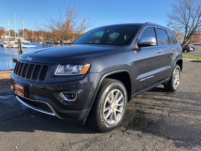 Used 2015 Jeep Grand Cherokee Limited 4x4 SUV in Larchmont, NY
