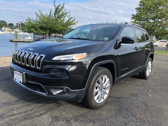Used 2015 Jeep Cherokee Limited 4x4 SUV in Larchmont, NY