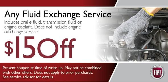 service coupon fiat