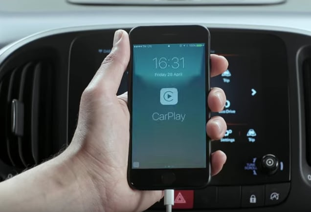 Setting up Apple CarPlay with iPhone