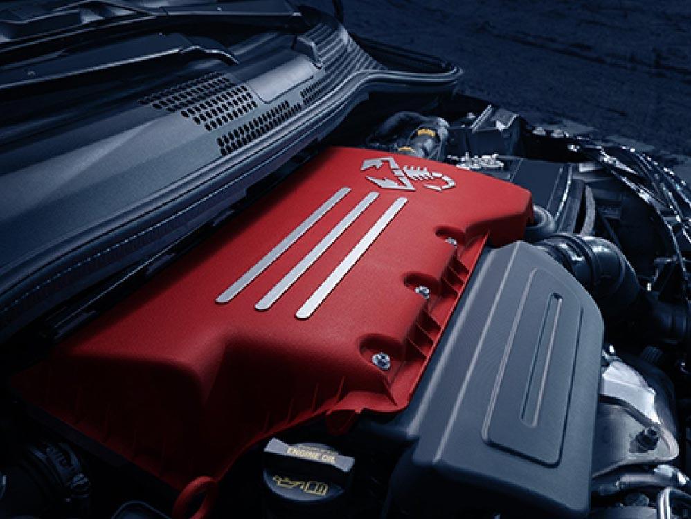 2019 Fiat 500 Abarth Engine