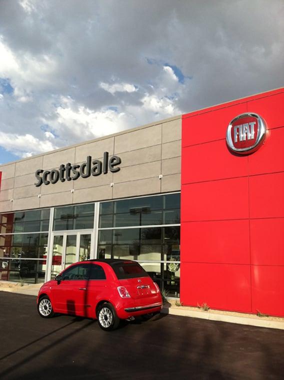 Used Car Dealerships In Mesa Az >> Fiat Dealer in Scottsdale | New & Used Cars | near Phoenix
