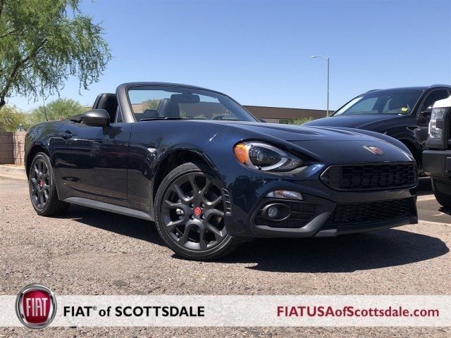 new 2018 fiat 124 spider abarth for sale in scottsdale az j0138854