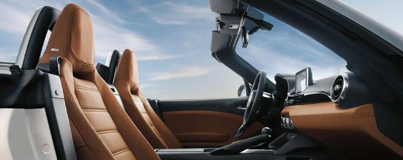 Premium leather in 2020 Fiat 124 Spider