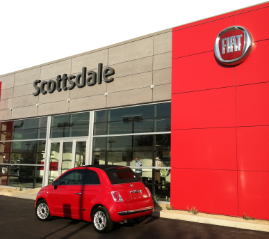 Scottsdale of Fiat opens