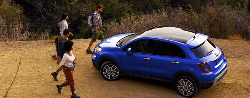 2019 FIAT 500x Camping