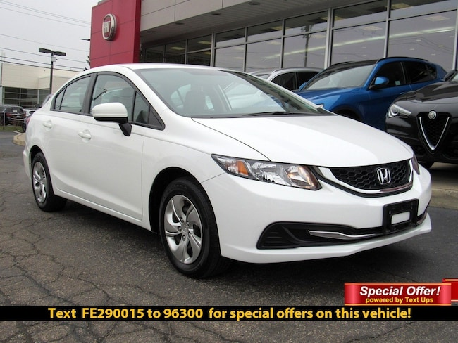2015 Honda Civic LX Sedan
