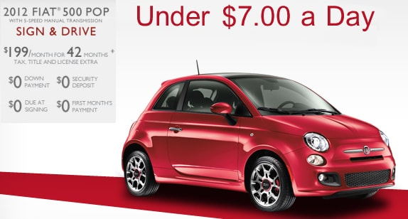 FIAT Of Maple Shade New FIAT Dealership In Maple Shade NJ - Fiat lease nj