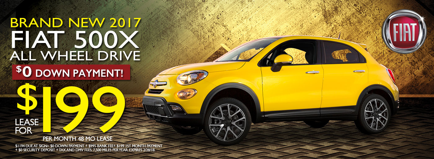 New FIAT Cars At FIAT Of Westbury Serving Long - Fiat inventory