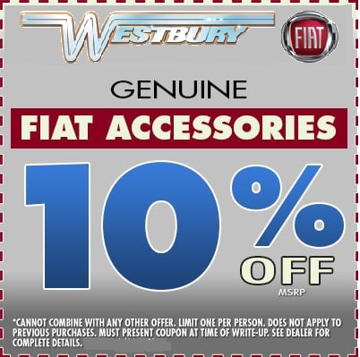 Save on FIAT Accessories