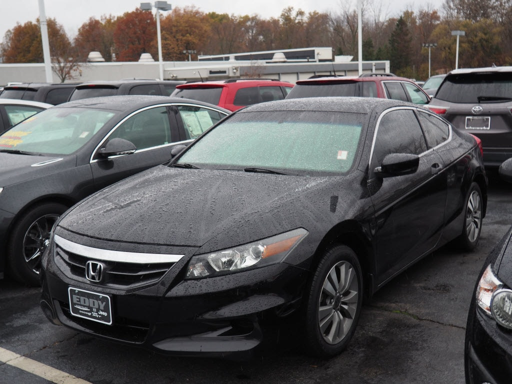 Pre Owned 2012 Honda Accord EX L EX L Coupe In Youngstown,
