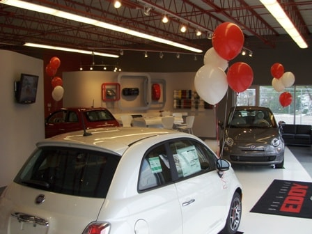 The Bob & Chuck Eddy FIAT Showroom