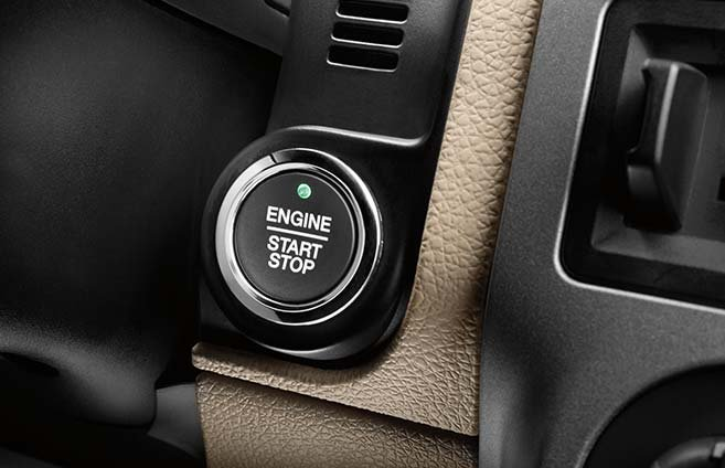 Keyless Entry with Push-Button Start