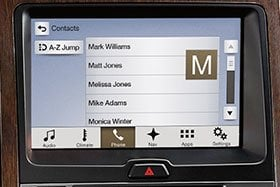 SYNC® with MyFord Touch®*