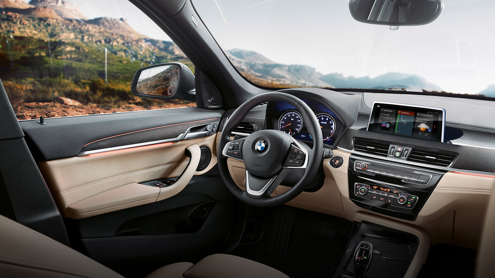Exploring The Interior Features In The 2020 Bmw X1 Fields Bmw Lakeland