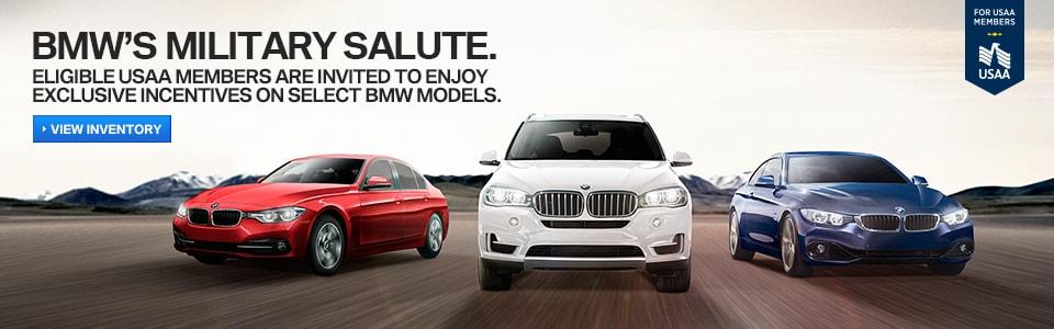 BMW Military Salute