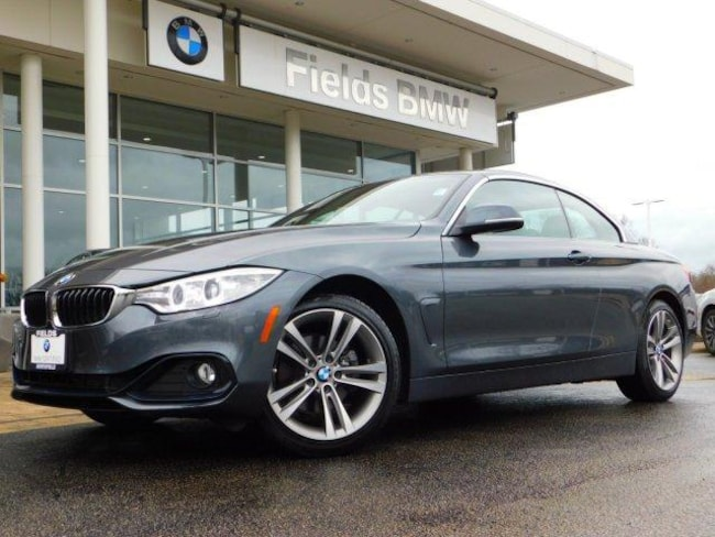2016 BMW 4 Series 2dr Conv 428i Xdrive AWD Sulev Convertible