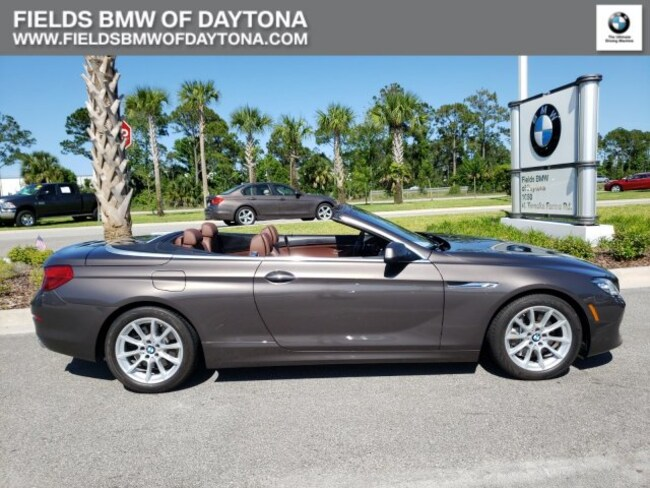 2015 BMW 6 Series 650i xDrive Convertible