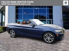 2016 BMW 2 Series 228i Convertible