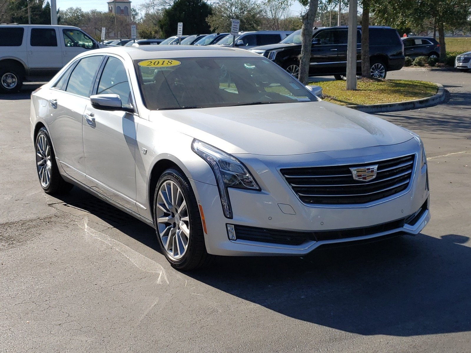 2018 CADILLAC CT6 3.6L Premium Luxury Sedan