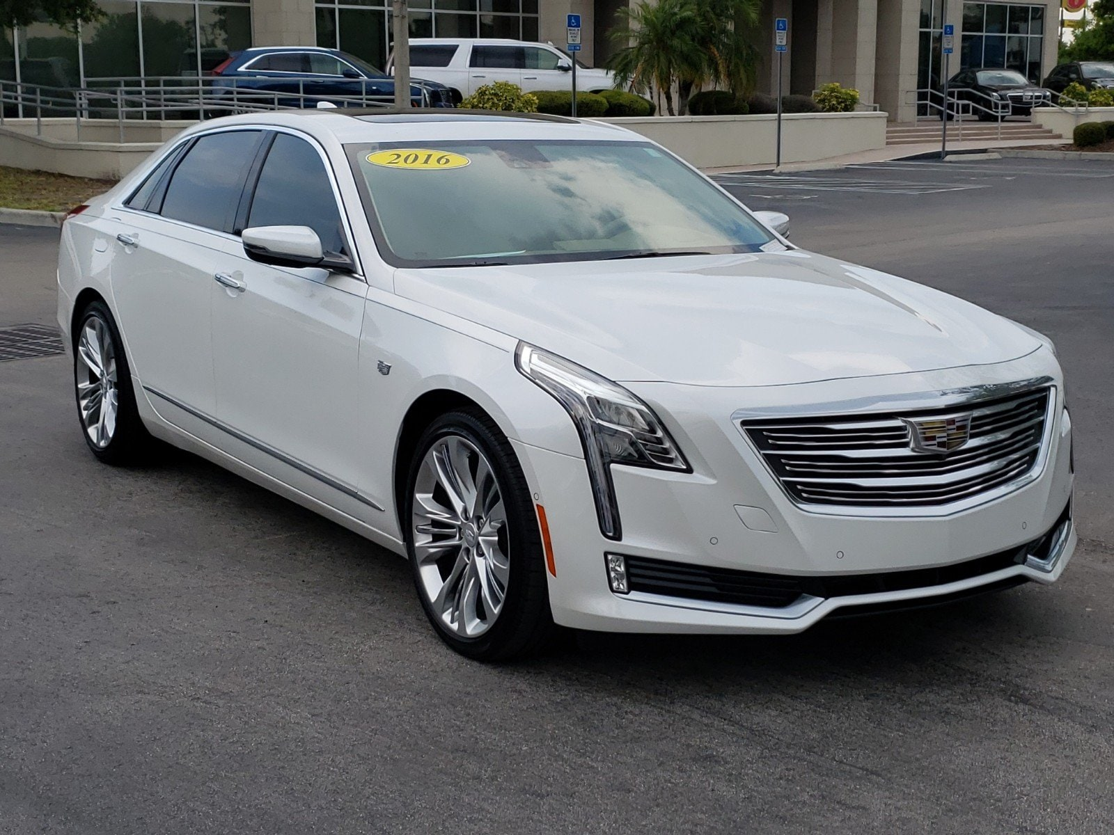 2016 CADILLAC CT6 3.6L Platinum Sedan