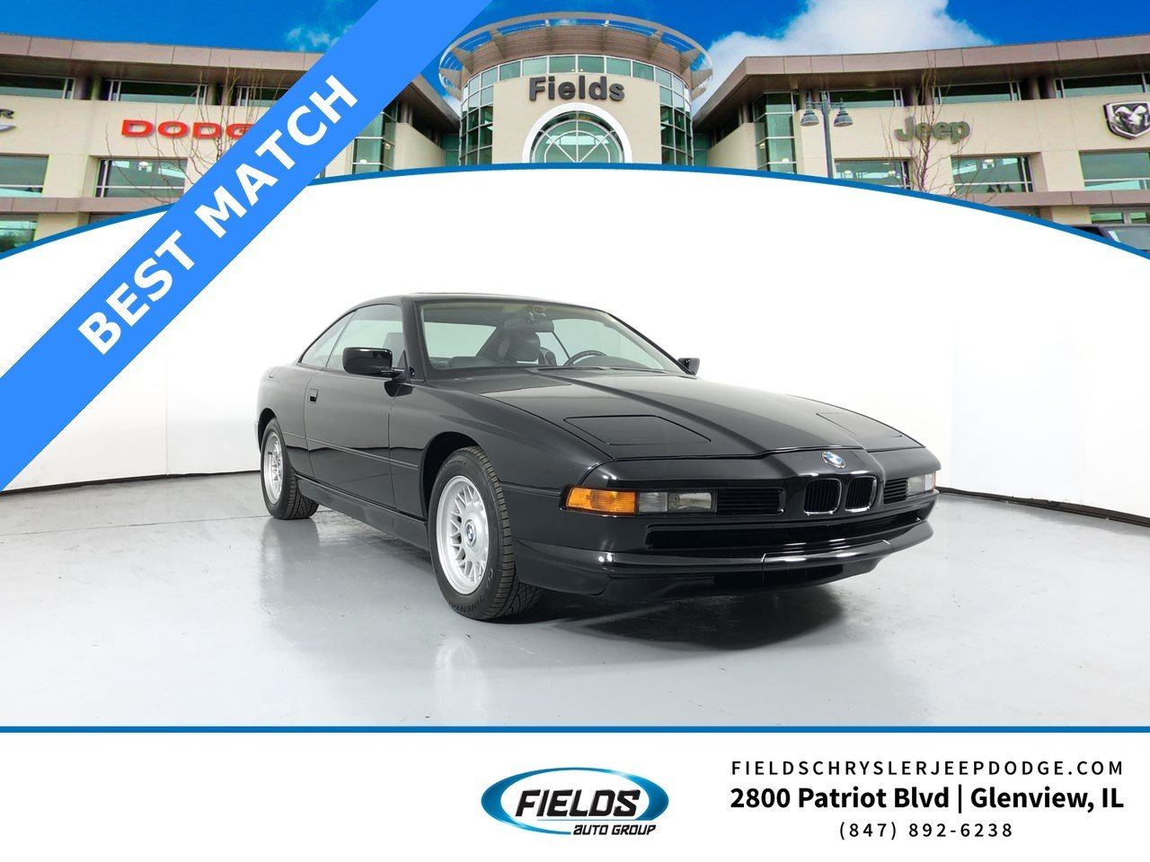 1991 BMW 8 Series 850i Coupe
