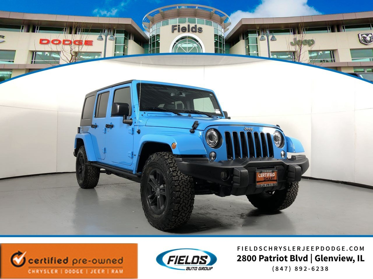 2017 Jeep Wrangler Unlimited Winter Winter 4x4 *Ltd Avail*