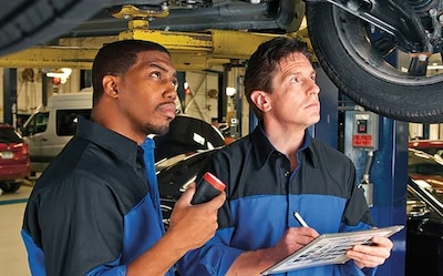 Complimentary Multi-Point Inspection, Plus 10% OFF Require Services