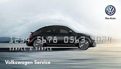 VW CREDIT CARD - $25 REBATE ON PURCHASE OVER $250