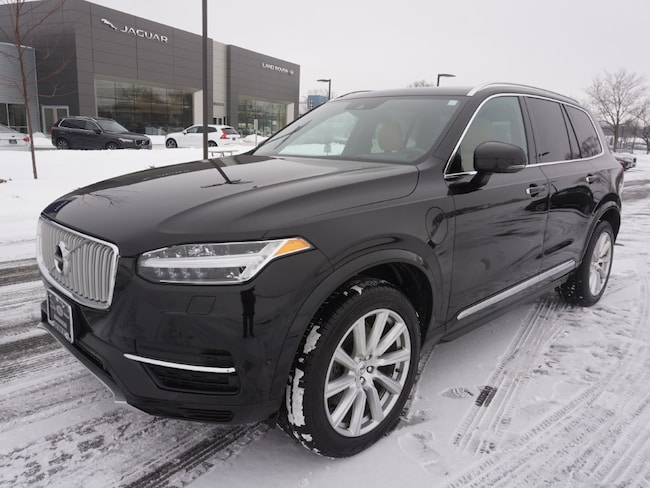 certified pre owned 2017 Volvo XC90 Hybrid T8 AWD Inscription SUV in Madiscon WI
