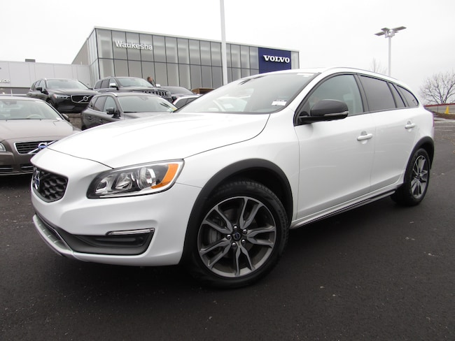 Pre-Owned 2016 Volvo V60 Cross Country T5 Wagon For Sale in Waukesha, WI