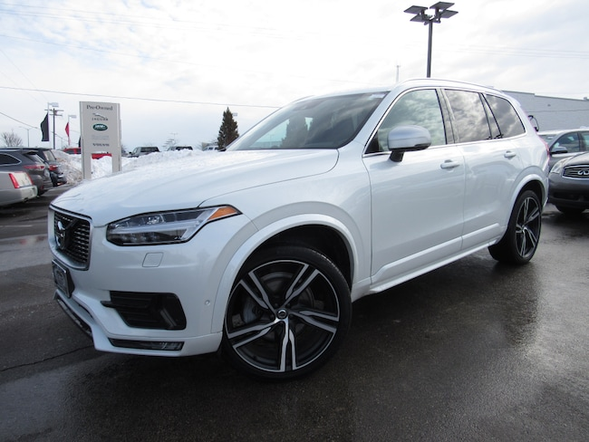 certified pre owned 2017 Volvo XC90 T6 AWD R-Design SUV in Madiscon WI
