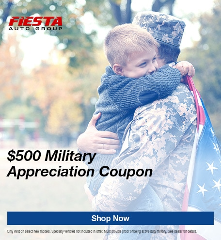 $500 Military Appreciation Coupon