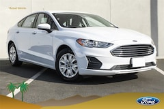 New 2019 Ford Fusion S Sedan 3FA6P0G70KR108605 Palm Springs