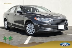 New 2019 Ford Fusion S Sedan 3FA6P0G78KR149113 Palm Springs