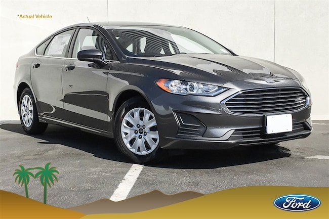 New 2019 Ford Fusion S Sedan for sale in Indio, CA