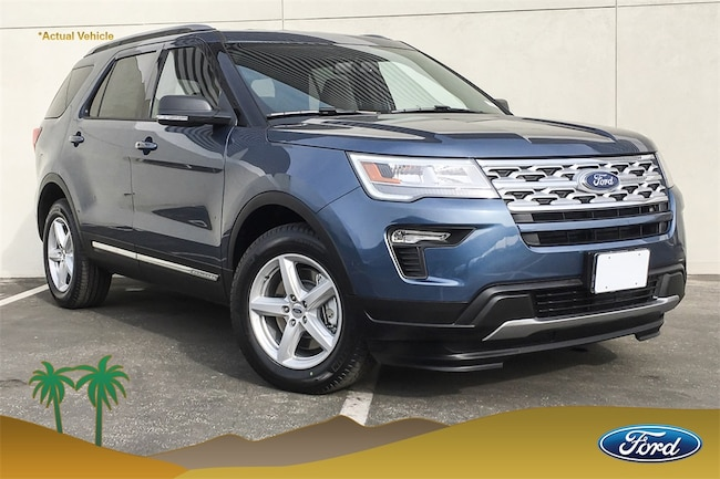 New 2019 Ford Explorer XLT SUV in Cathedral City