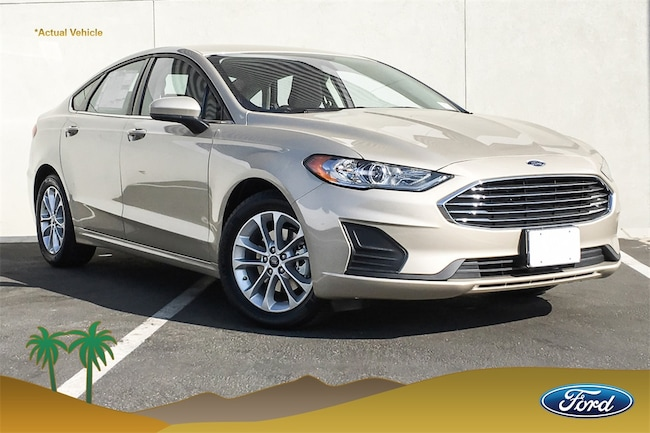New 2019 Ford Fusion SE Sedan in Cathedral City