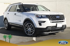 New 2019 Ford Explorer Sport SUV 1FM5K8GT1KGA28278 for sale in Indio, CA