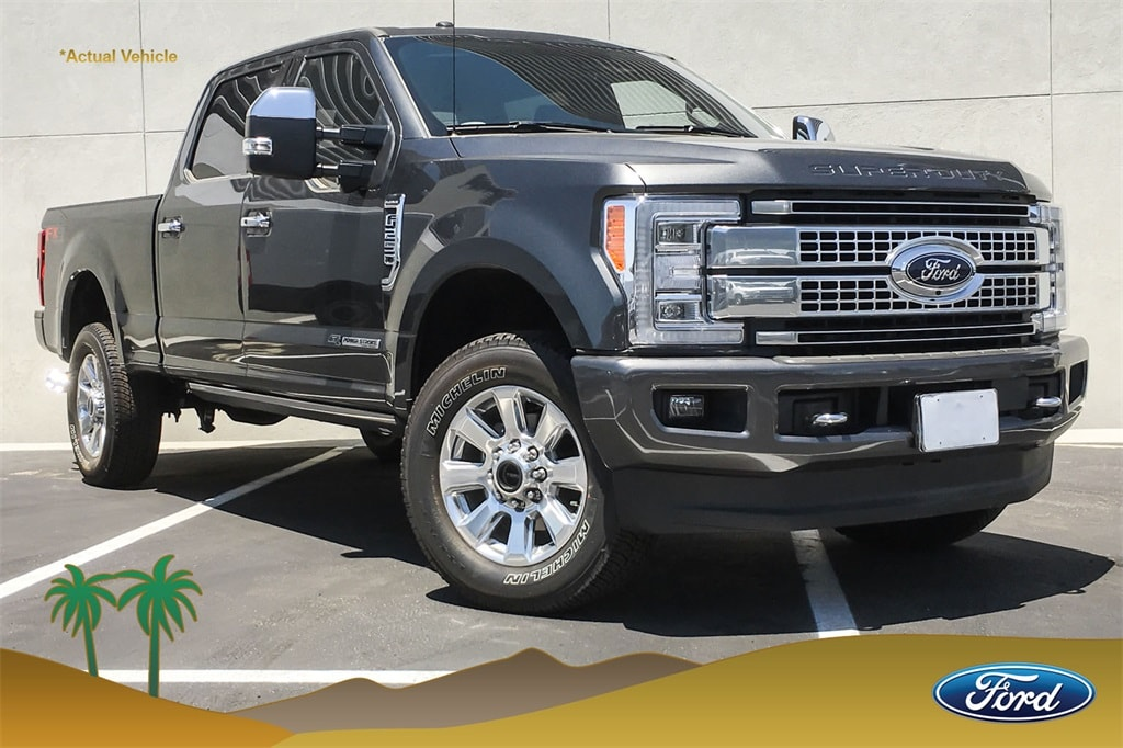 2018 Ford F-250SD Platinum Truck