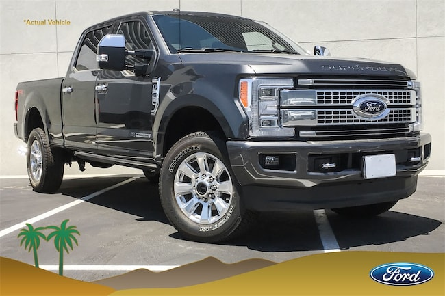 New 2018 Ford F-250SD Platinum Truck for sale in Indio, CA