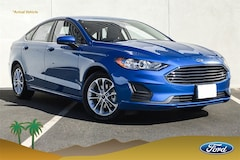 New 2019 Ford Fusion SE Sedan 3FA6P0HD0KR177198 Palm Springs