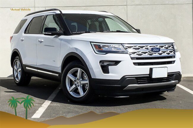 New 2018 Ford Explorer XLT SUV for sale in Indio, CA