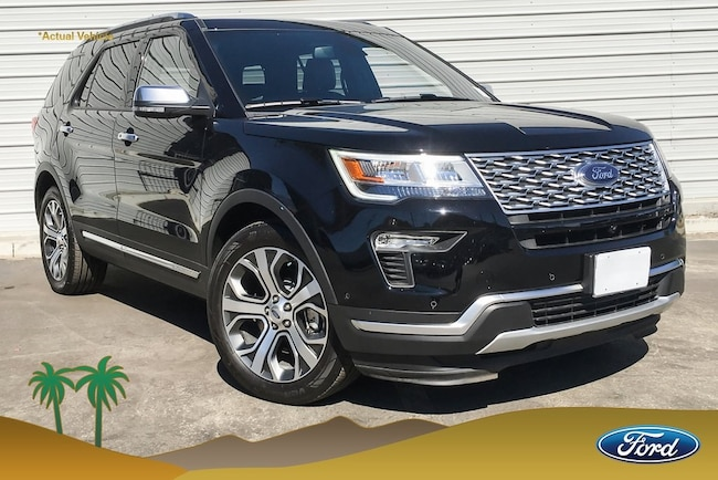 New 2018 Ford Explorer Platinum SUV for sale in Indio, CA