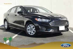 New 2019 Ford Fusion S Sedan 3FA6P0G76KR149112 Palm Springs