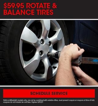 Rotate and Balance Tires